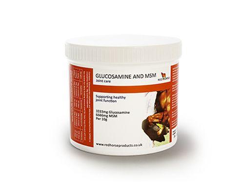 Red Horse Produkte MSM Glucosamine 1kg Dose