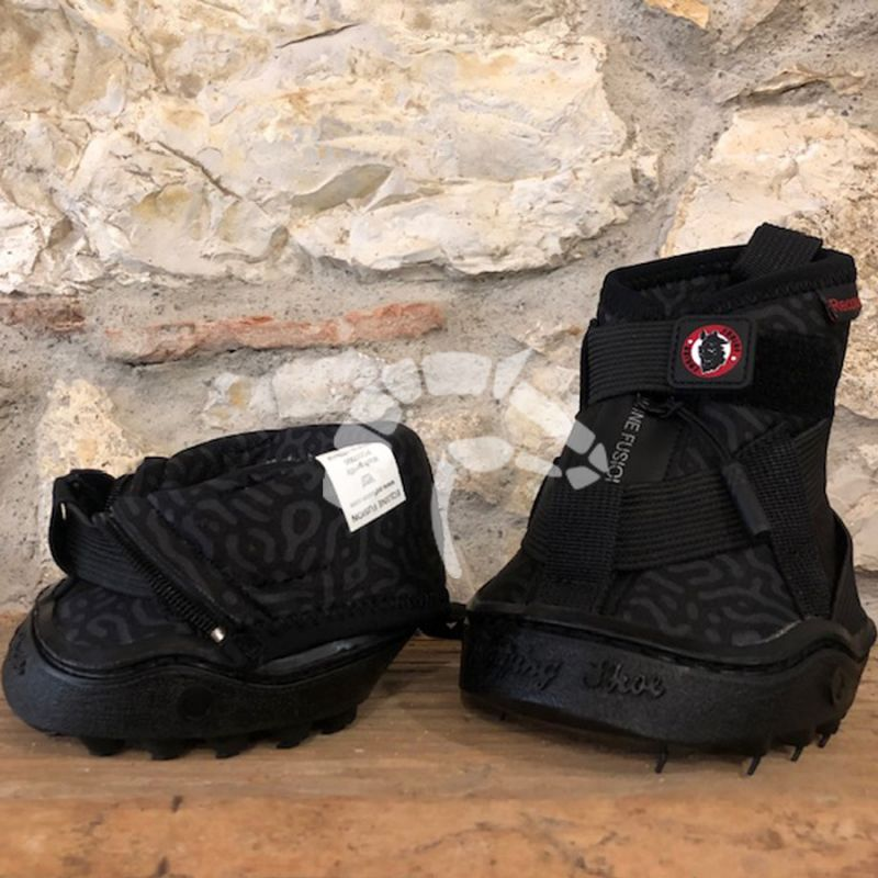 Equine Fusion Recovery Shoe black