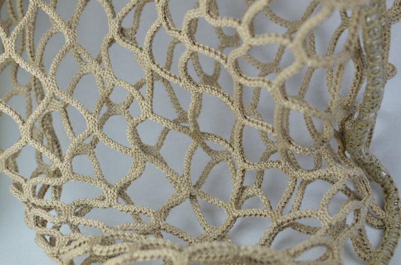 Löwers Tuchheunetze 3cm grün oder beige Netzfarbe
