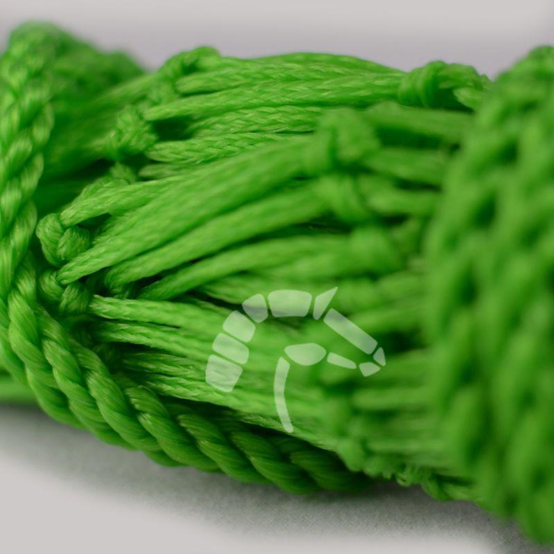Sackheunetz Maxi und Mega-6 Maschenweite 6 x 6cm grün