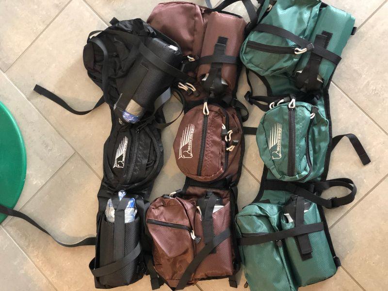Pommel Deluxe Satteltasche m. 2Wasserflaschen