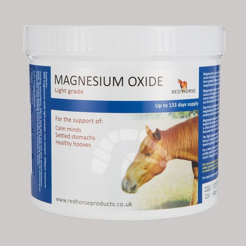 Red Horse Produkte Magnesium Oxide 400g