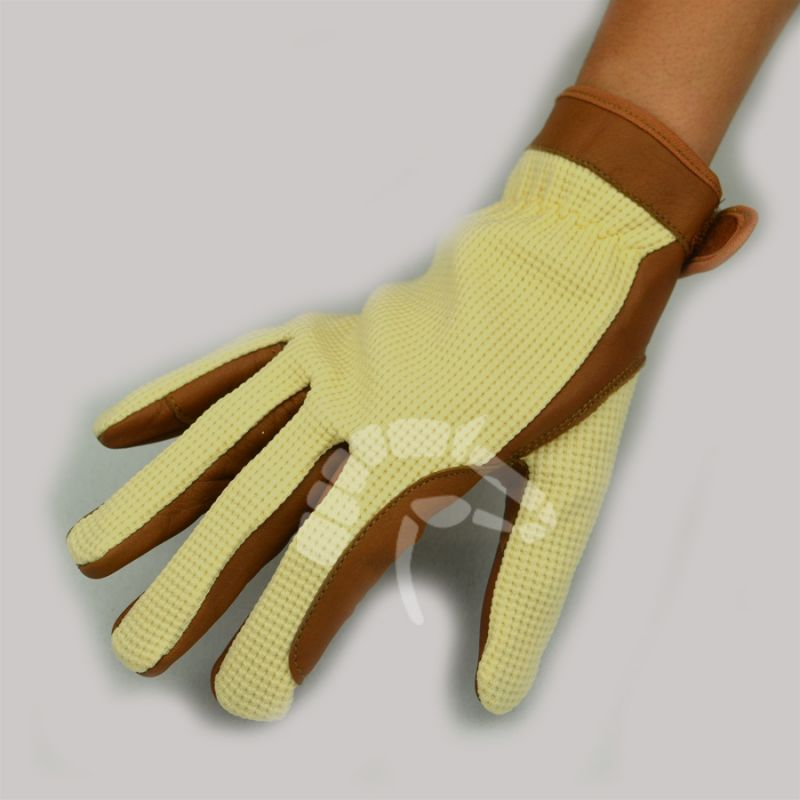 Riding Gloves braun/beige 3 Grössen